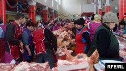Сьвініна на рынку