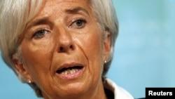 Кристин Лагард, управляющий директор Международного валютного фонда.