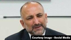 آرشیف، حنیف اتمر مشاور پیشین امنیت ملی افغانستان