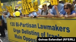 Поддржувачи на Муџахедин-е Халк.