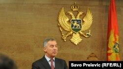 Milo Đukanović tokom premijerskog sata, 29. april 2013.