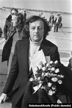 Андре Превен (Превин). Октябрь 1973. Роттердам