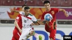 Lojë futbolli ndërmjet Iranit dhe Kinës