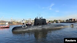 The San Juan submarine