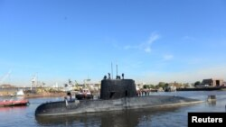 Submarinul ARA San Juan, Buenos Aires, 2 iunie 2014.