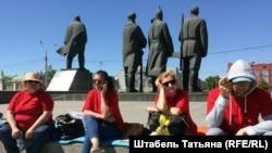 Новосибирск. Голодовка обманутых дольщиков