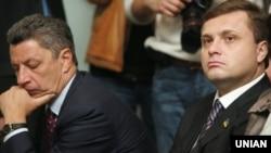 Юрій Бойко (л) і Сергій Льовочкін (п), архівне фото