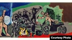 Цртежи на Пабло Пикасо во Светската галерија Остен.