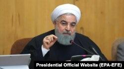 حسن روحانی طرح تشکیل نیروی مرزی در سوریه را «مغایر قواعد بین المللی» دانست