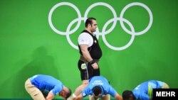 İran ağırlıqqaldıranı Behdad Salimi