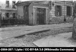 Травень 1943 году, менская вуліца