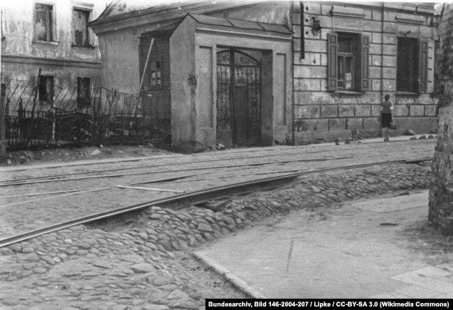 Май 1943 года, минская улица