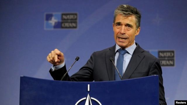 NATO Secretary-General Anders Fogh Rasmussen (file photo)