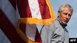 Министр обороны США Чак Хейгел. 6 декабря 2013 года.