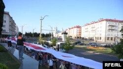 اعتراضات به نتیجه انتخابات ریاست جمهوری در بلاروس