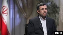 محمود احمدینژاد، رئیس جمهور پیشین ایران.
