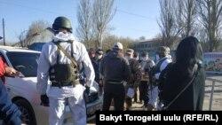Шаҳри Бишкек, 31 март, 2020.