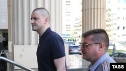 Сергей Удальцов перед слушаниями в Мосгорсуде 7 июля