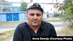Германиядан Польшаға депортацияланған шешен Имрам Шаптукаев. Польша, 7 шілде 2013 жыл.