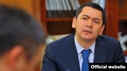 Премьер-министра Кыргызстана Омурбек Бабанов.