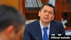 Kyrgyzstan's Prime Minister Omurbek Babanov