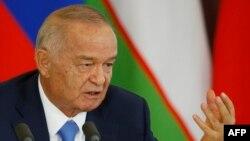 Өзбекстан президенті Ислам Каримов. Мәскеу, 26 сәуір 2016 жыл.