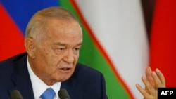 Özbegistanyň prezidenti Islam Karimow, Moskwa, 26-njy aprel, 2016.