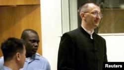 Dario Kordić tokom suđenja u Hagu