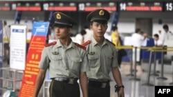 Предолимпийское усиление в аэропорту Урумчи