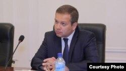 Нормат Турсунов, начальник Государственного налогового управления города Ташкента. Фото с сайта ГНК РУз.