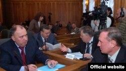 Погоджувальна рада керівників депутатських фракцій Верховної Ради України, 15 лютого 2010 року