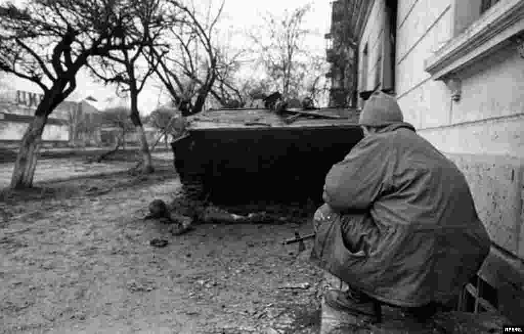 Беренче чечен сугышын фотога төшерү #7