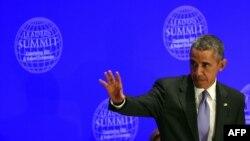 باراک اوباما میگوید که باید زمینههای رشد افراطیگری اسلامی متوقف شود.