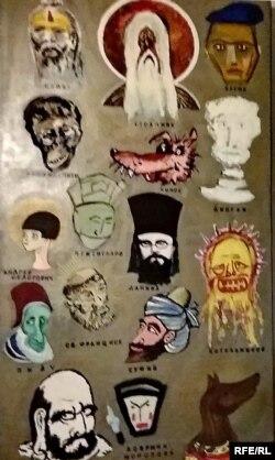 """Картина Андрея Хлобыстина """"Искусство и религия"""""""