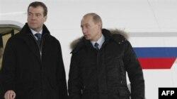 Дмитрий Медведев и Владимир Путин в Жуковском бывали в дни работы авиасалона, но сейчас в городе - совсем другой праздник...