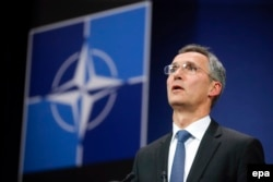 "NATO Secretary-General Jens Stoltenberg: ""As we have repeatedly made clear, we stand in solidarity with Turkey and support the territorial integrity of our NATO ally."""