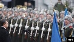 Ուկրաինայի նորընտիր նախագահ Վիկտոր Յանուկովիչի երդմնակալության արարողությանը, Կիեւ,25-ը փետրվարի, 2010թ.