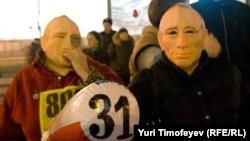Каждое 31-е число на Триумфальную площадь в Москве выходят защитники 31-й статьи Конституции РФ