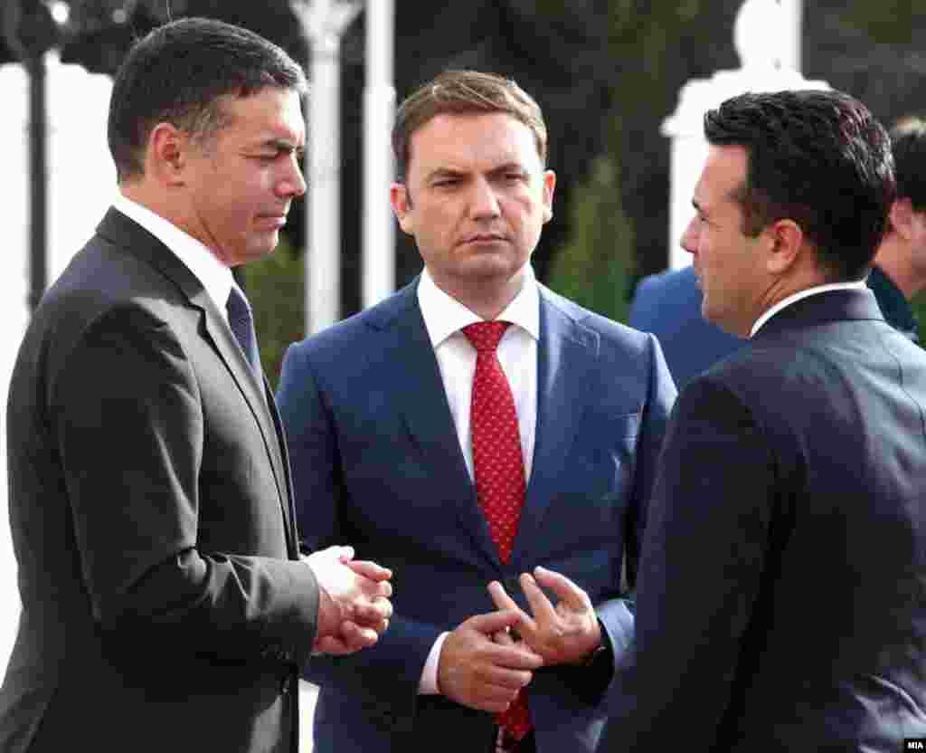 МАКЕДОНИЈА - Не постои анекс со 12 точки на Договорот за добрососедство и пријателство, за кој зборуваше бугарскиот вицепремиер Красимир Каракачанов, вели министрерот за надворешни работи Бујар Османи.