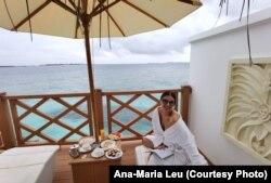 Ana-Maria Leu a ales să își petreacă începutul de an în vacanță în Maldive