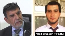 Акси Маҳмурод Одинаев ва писараш Ҳабибулло Ризоев