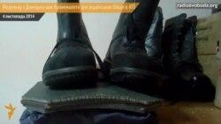 Модельєр із Донецька тепер опікується пошиттям бронежилетів для українських бійців в АТО