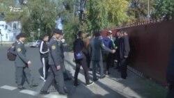 Кыргызстанцы на выборах в Алматы