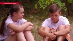 Детей из прифронтовых городов Украины бесплатно учат английскому в специальном лагере
