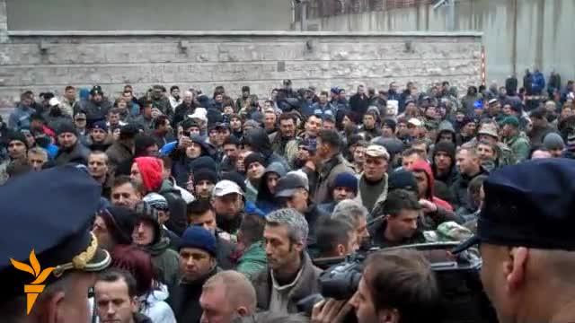 Sarajevo: Protest penzionisanih boraca
