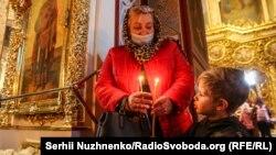 Вялікдзень у Саборы Сьвятога Міхаіла ў Кіеве, 2 траўня 2021