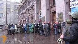 Самооборона Майдану завершила охорону КМДА