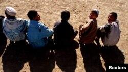 شماری از کودکان افغان