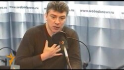 Борис Немцов: нам надо настраиваться на марафон