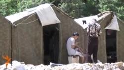 Нарын: Местные жители остановили работу небольшой золотодобывающей компании